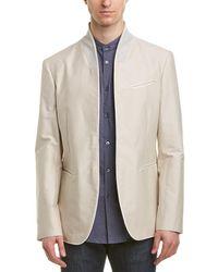 John Varvatos Slim Fit Shirt - Multicolour