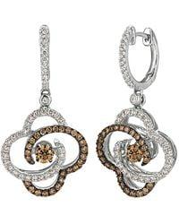 Le Vian 14k 1.24 Ct. Tw. Diamond Drop Earrings - Metallic