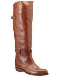 Frye Dorado Leather Riding Boot - Brown