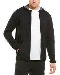 adidas City Studio Fleece Full Zip Hoodie - Black