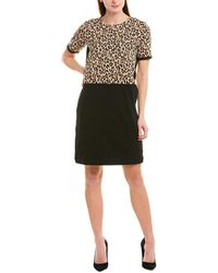 Joan Vass Shift Dress - Black