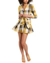 ATOIR Power Trip Mini Dress - Yellow