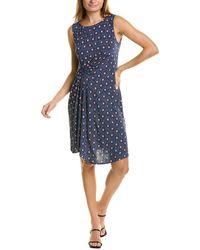 Maliparmi Rooftops A-line Dress - Blue