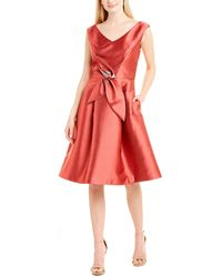 Kay Unger Cocktail Dress - Red
