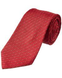 Louis Vuitton Red Silk Tie