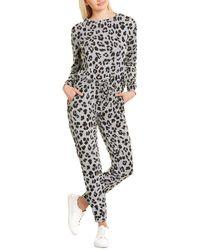 Catherine Malandrino 2pc Sweatshirt & Jogger Pant Set - Grey