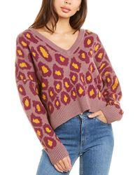 Nation Ltd Bijou Alpaca-blend Sweater - Purple