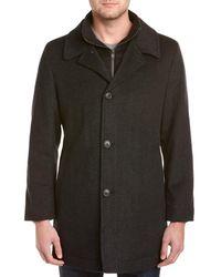 Hart Schaffner Marx Macbeth Wool-blend Coat - Black