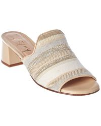 French Sole Duplex Leather Sandal - White