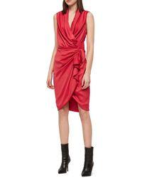 AllSaints Allsaints Cancity Dress - Red