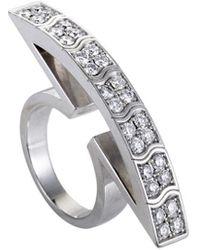 Piaget Piaget 18k 1.30 Ct. Tw. Diamond Ring - Metallic