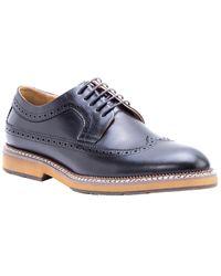 Zanzara Kooning Leather Dress Shoe - Black