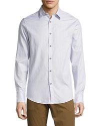 Mr Turk - Mr. Turk Romano Long Sleeve Sportshirt - Lyst