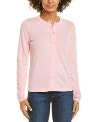 Anne Klein Button-up Cardigan - Pink