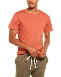 Monrow Crewneck T-shirt - Orange
