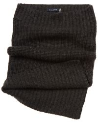 Magaschoni Wool & Cashmere Neck Warmer - Grey