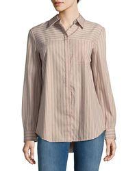 Lafayette 148 New York - Brody Button-down Shirt - Lyst