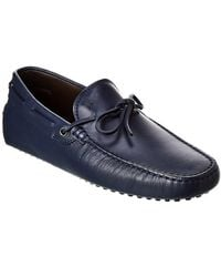 Tod's Tod?s Gommini Leather Driver - Blue