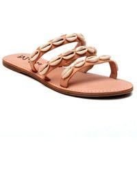 Matisse Resort Leather Sandal - Brown