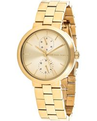 Michael Kors Women's Garner Watch - Metallic