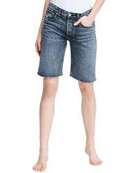 Rag & Bone Distressed Shorts - Grey