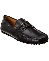 Tod's City Gommino Leather Loafer - Black