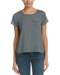 French Connection - Polly Plains T-shirt - Lyst