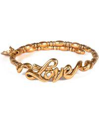 ALEX AND ANI - V66 Classics Love Exapandable Wrap Bracelet - Lyst
