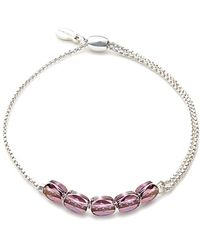 ALEX AND ANI - Crystal Infusion Expandable Bracelet - Lyst