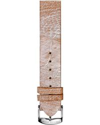 Philip Stein Ostrich Watch Strap - Large - Multicolor