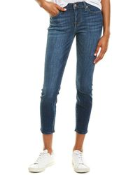 7 For All Mankind 7 For All Mankind Gwenevere Cbri Ankle Cut Jean - Blue