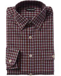 Tom Ford Dress Shirt - Red