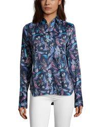 Robert Graham Priscilla Shirt - Blue
