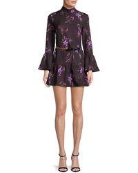Millie Mackintosh - Floral Flare Dress - Lyst