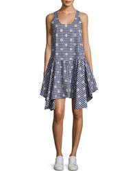 WHIT - Lala Asymmetric Flared Dress - Lyst