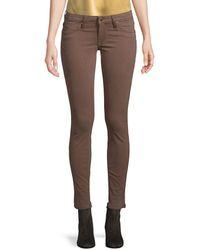 Robin's Jean Robin?s Jean Chocolate Skinny Leg - Brown