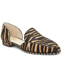 Vince Camuto Rendolen3 Haircalf & Leather Studded Loafer - Multicolour