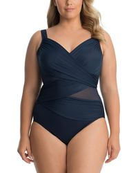 Miraclesuit Plus Network Madero One-piece - Blue