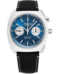 Alpina Startimer Pilot Watch - Blue