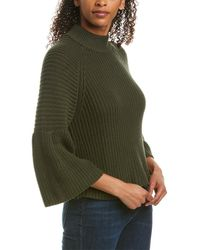 Autumn Cashmere Cotton By Jumper - Green