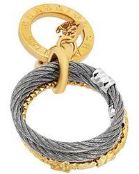 Charriol - Fete Du Jour Stainless Steel Ring - Lyst