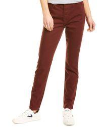 GRLFRND Karolina Straight Leg Jean - Purple
