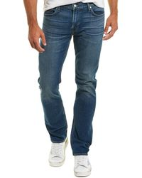 7 For All Mankind 7 For All Mankind Slimmy Lanr Slim Leg - Blue