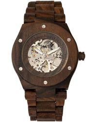 Earth Wood Unisex Grand Mesa Watch - Brown