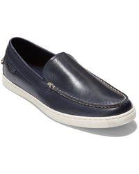 Cole Haan Nantucket Venetian Leather Loafer - Blue