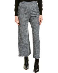 Rebecca Taylor Tweed Pant - Grey