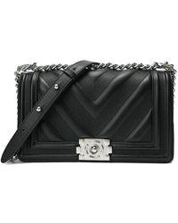 Tiffany & Fred Leather Crossbody - Black