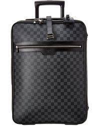 Louis Vuitton Damier Graphite Canvas Pegase 55 - Black