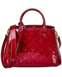 Louis Vuitton - Purple Monogram Vernis Leather Montaigne Bb - Lyst