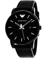 Armani Emporio Classic Watch - Black